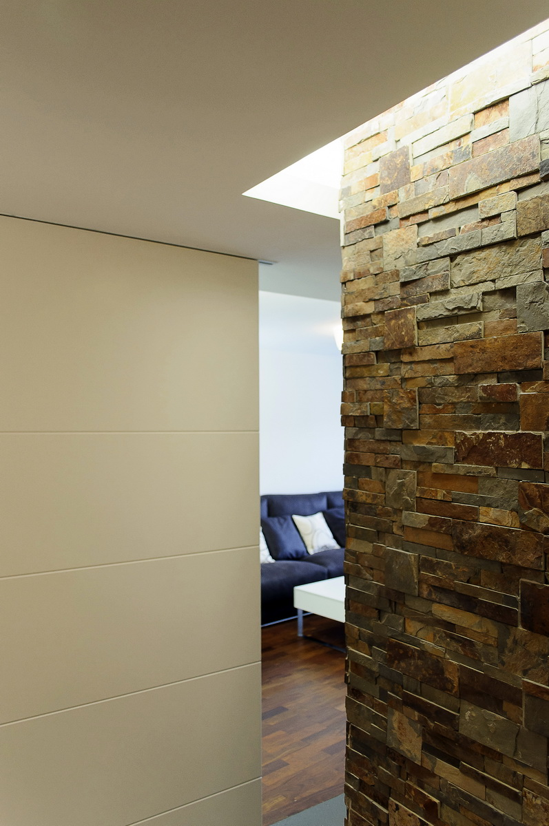 Reforma de un piso separador salon reforma integral - Reforma de pisos en madrid ...