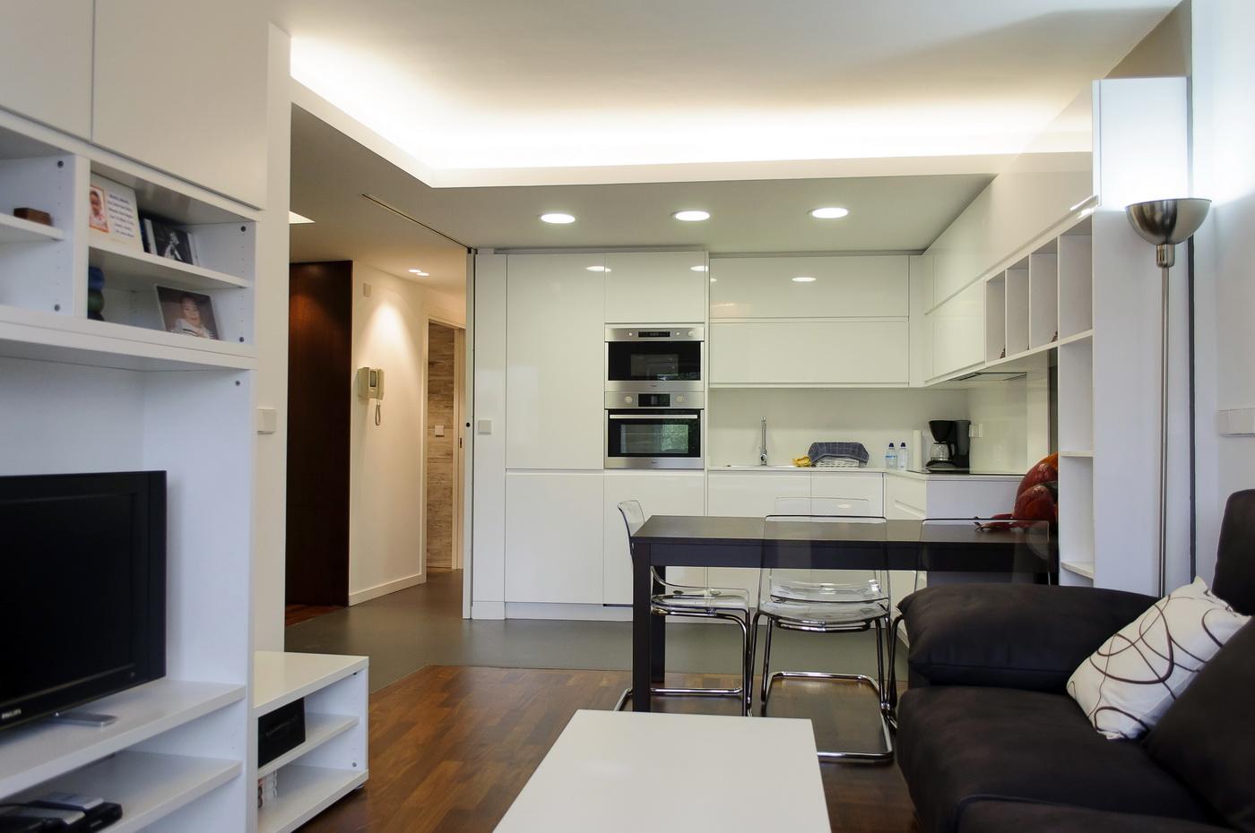Finalizaci n de obra reforma integral de piso en a coru a intra arquitectos - Reformas de piso ...