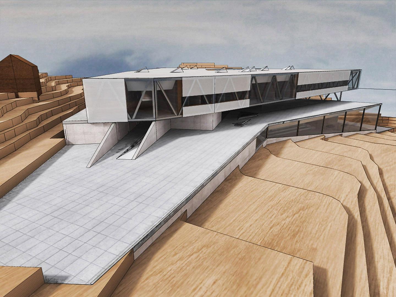 Escuela de arquitectura en a coru a intra arquitectos - Escuela de arquitectura de barcelona ...