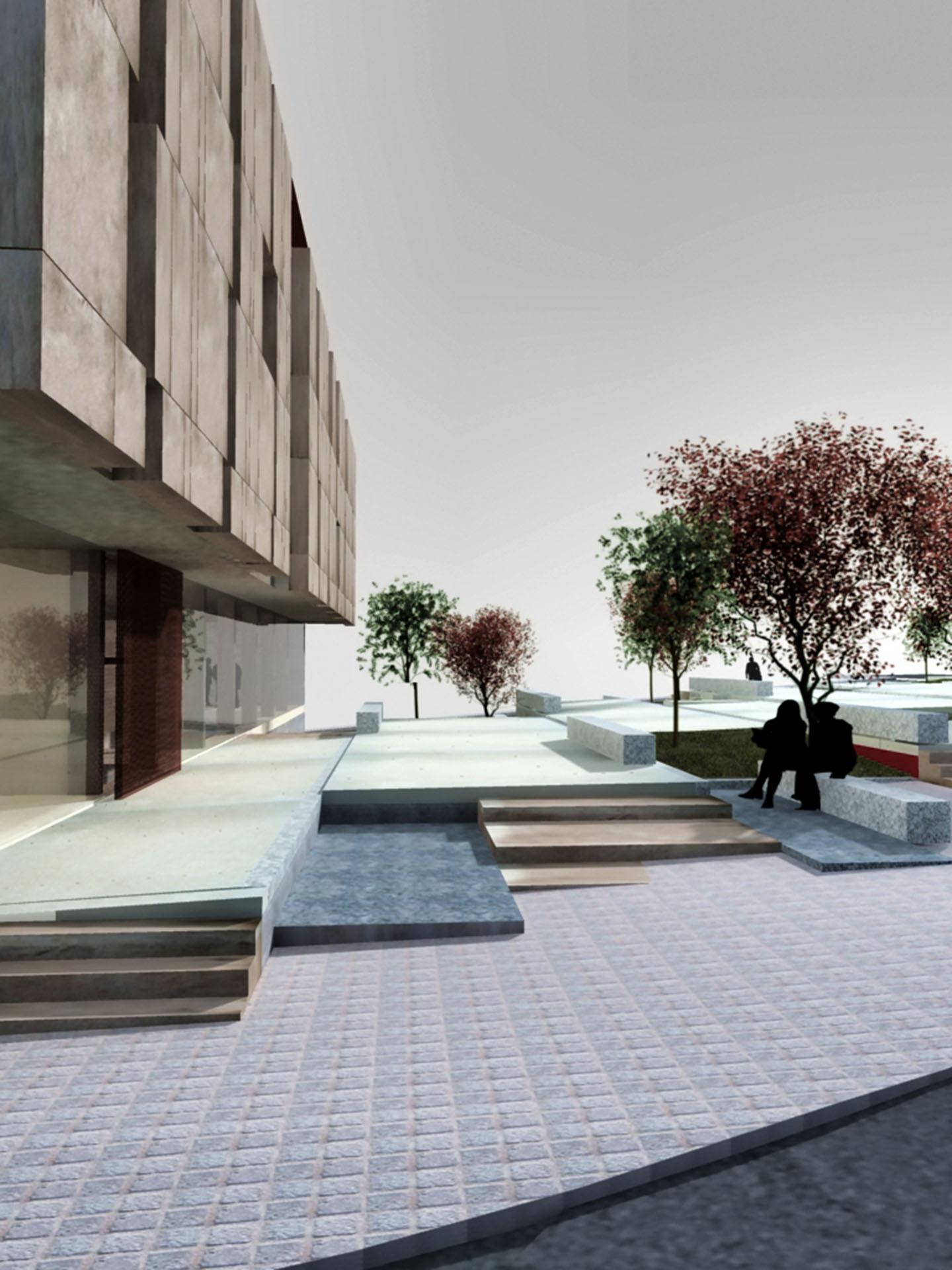 Sede del coag vigo intra arquitectos - Arquitectos vigo ...